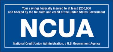 CFCU is NCUA backed and insured